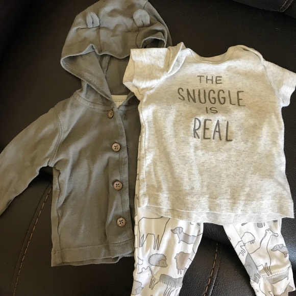 c93aa96f6 Carter's Matching Sets | The Snuggle Is Real Set | Poshmark